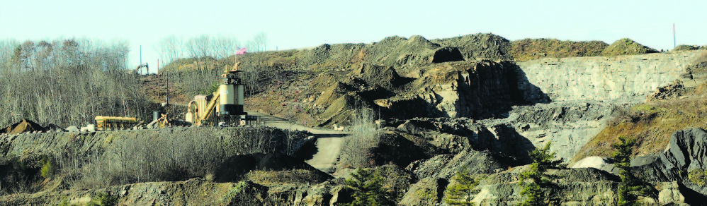 The McGee gravel pit operations on West River Road in Augusta have come under fire from neighbors because of dust.