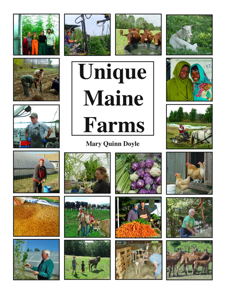"""""""Unique Maine Farms"""" is due to be released next month and features a number of central Maine farms."""