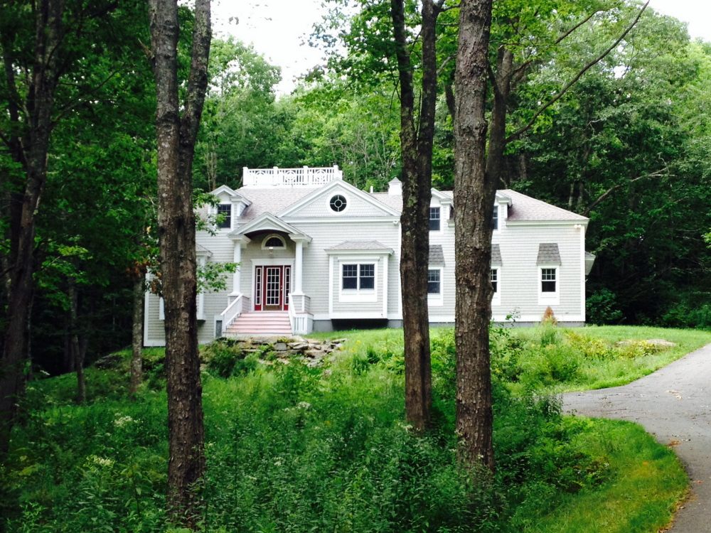 Gov. Paul LePage and his wife, Ann, purchased this home in Boothbay on July 30. The home, which has water access, is part of a private develop- ment where assessed house values range from $286,000 to $1.3 million.