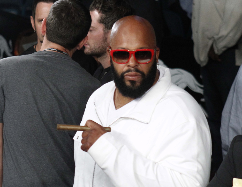 """Rap mogul Marion """"Suge'' Knight was injured in an early morning shooting at a West Hollywood nightclub."""