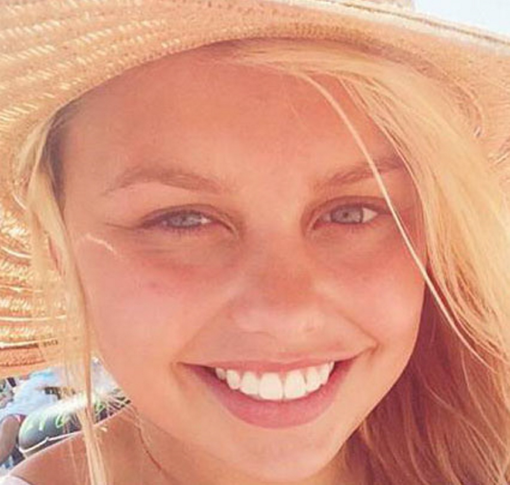 Kelsey Stoneton died recently from a blood clot.