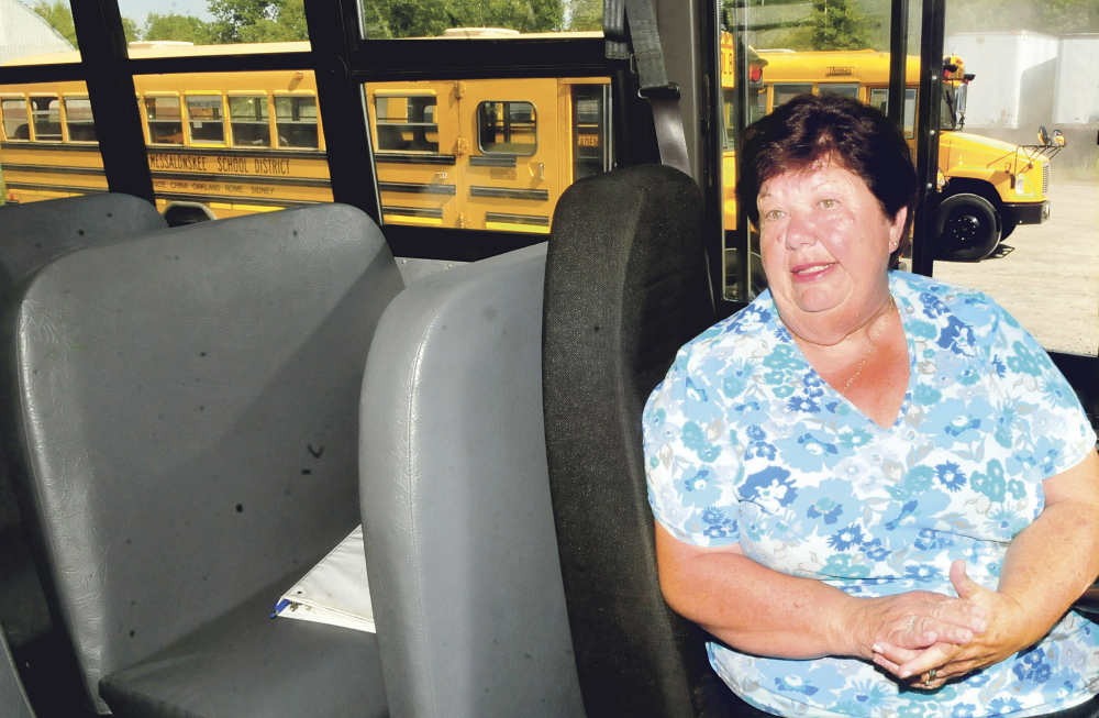 RSU 18 bus driver Donna Pullen has been behind the wheel for 47 years.