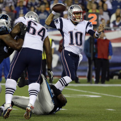New England Patriots quarterback Jimmy Garoppolo will start under center when the Patriots play their final preseason game against the New York Giants on Thursday at Gillette Stadium in Foxborough, Mass.