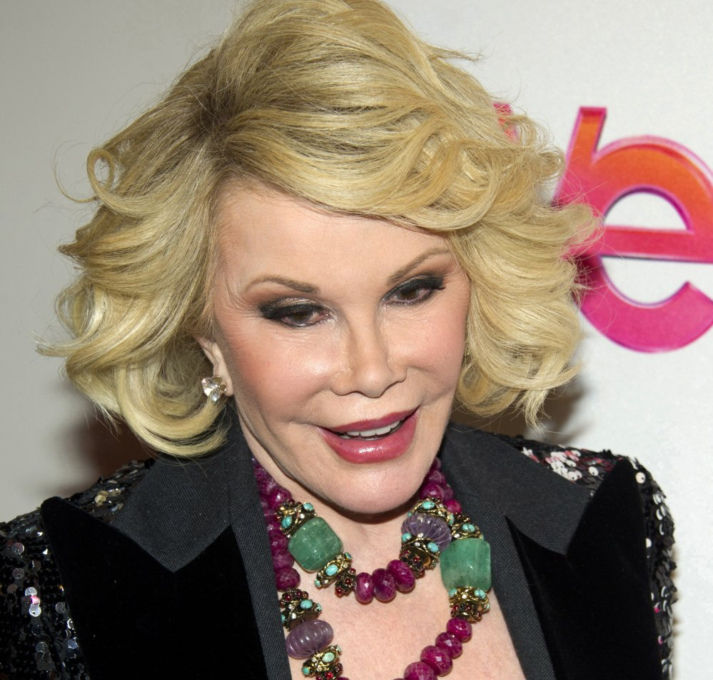 Joan Rivers remains hospitalized three days after going into cardiac arrest at a doctor's office in New York City.