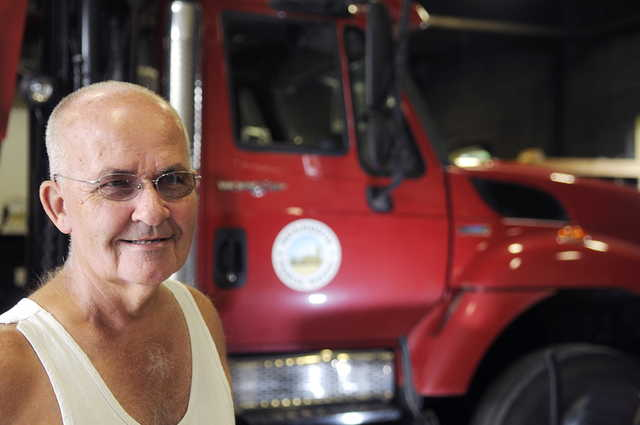 Herb Whittier is retiring after working at Monmouth Public Works for 44 years. Selectmen said they will launch a search for a public works director for the first time since Whittier took over that position in 1977.