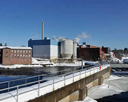 The Board of Assessors Monday set a tax rate less than half of what was expected after the Madison Paper Industries mill revaluation cut $150 million from the tax rolls.