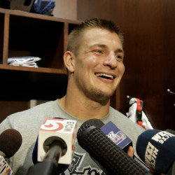 Ready to go? Rob Gronkowski thinks so, but the final decision rests with his coach.