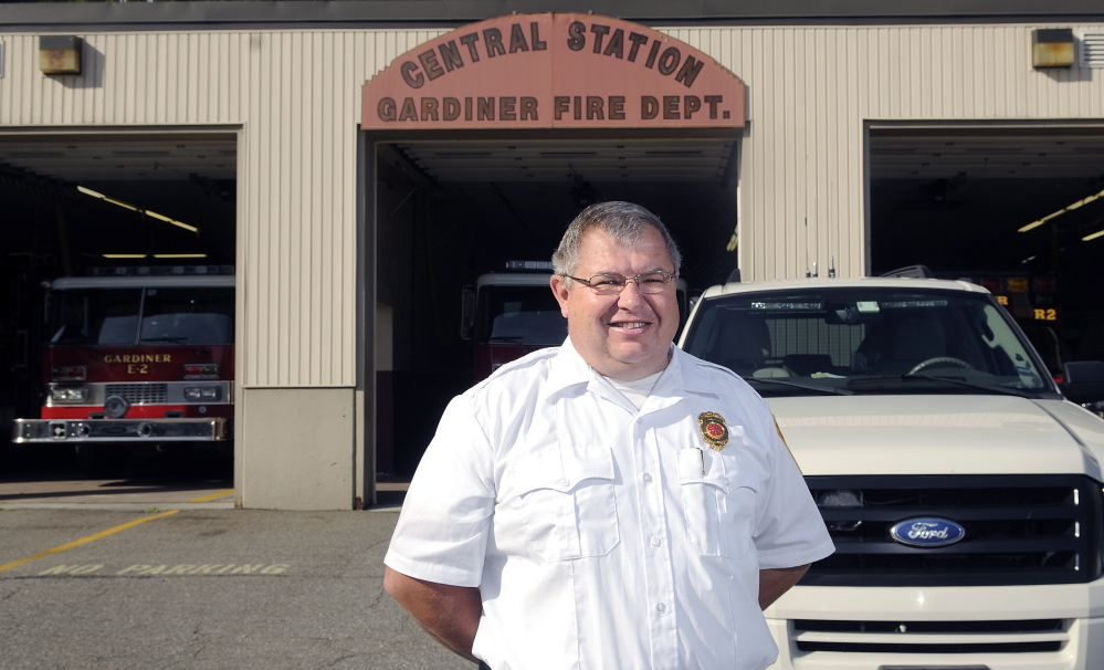 Al Nelson was recently appointed Gardiner fire chief.