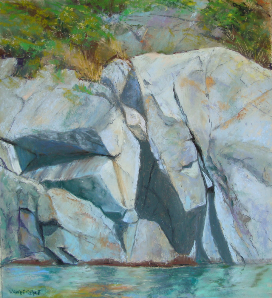 "Works in pastel, including ""Manana Moment,"" by Barbara Vanderbilt, will be displayed."