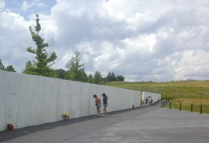 The new permanent memorial to the passengers and crew of United Airlines Flight 93, which crashed in a field in southwestern Pennsylvania.