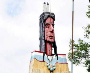 The Skowhegan Indian sculpture will be rededicated Saturday after a painstaking 10-year, $65,000 restoration.