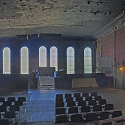 The third floor theater space at Gardiner's Johnson Hall will be used Saturday for performances for the first time since the 1980s.