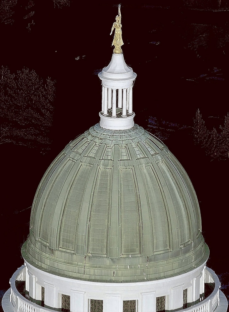 Copper removed from the State House dome may be sold to artists and sculptors.