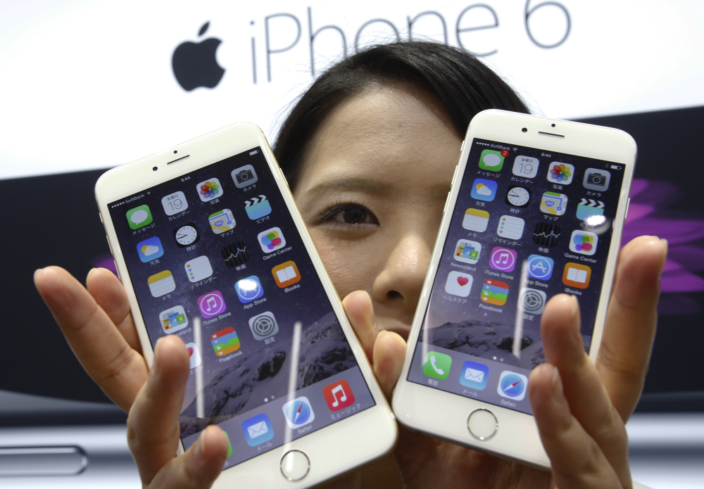 The new Apple iPhone 6 and 6 Plus went on sale Friday.