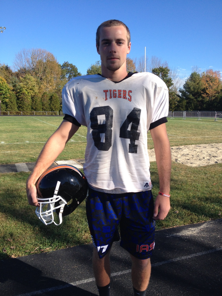 Mt. Blue will have to contain Gardiner tight end Jake Truman.