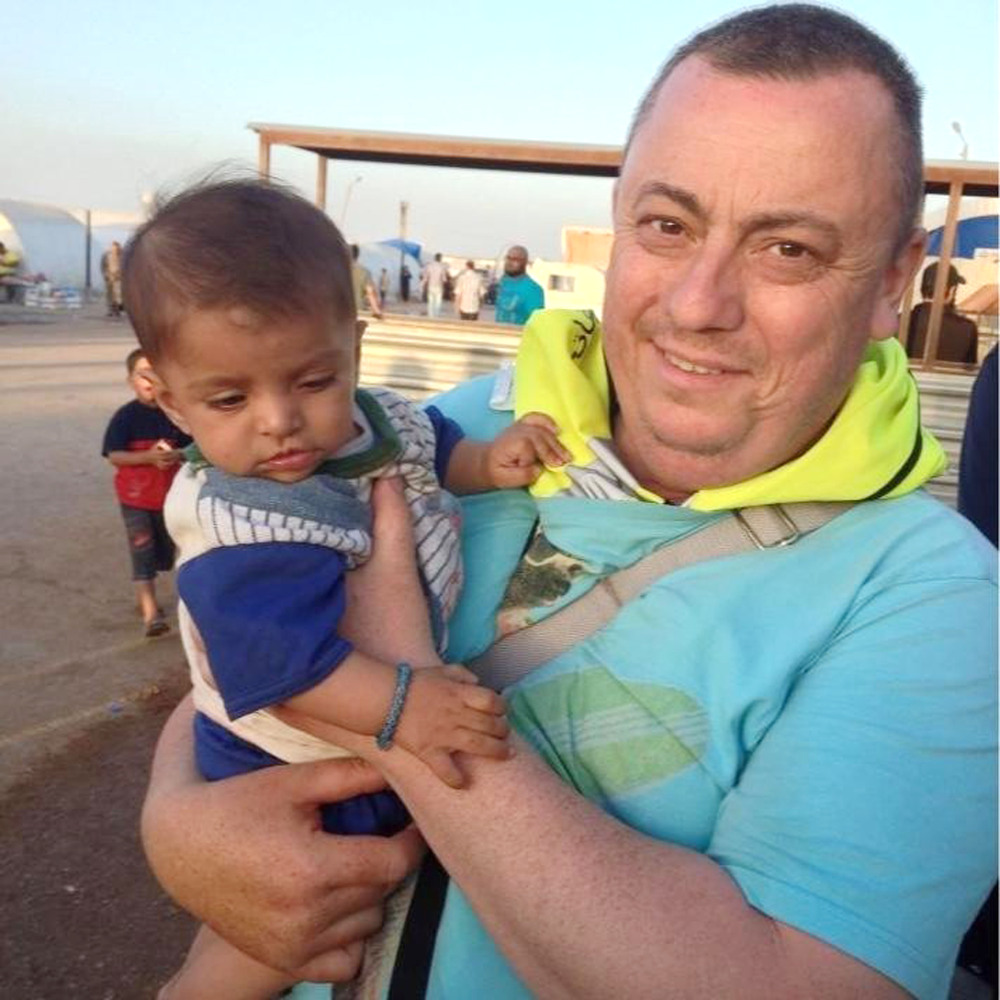 This undated family handout photo shows British man Alan Henning, who was held hostage by the Islamic State group.