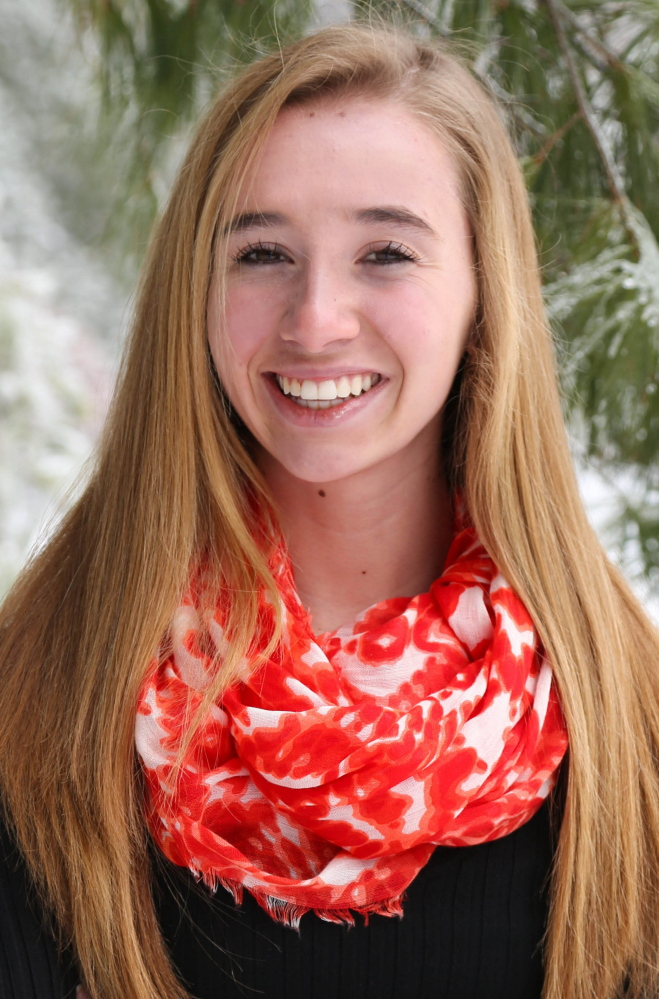 Messalonskee High School student Cassidy Charette was killed in the accident at Harvest Hill Farms.