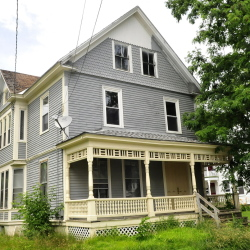 Sean Rancourt and Kevin Hubert were arrested by police on charges of copper theft at this 7 Summer St. home in Waterville.