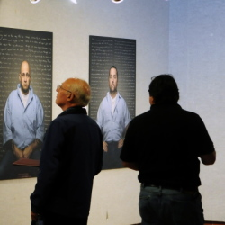 "$ID/[No paragraph style]:Biddeford photographer Trent Bell's ""Reflect: Convicts' Letters to Their Younger Selves"" will be on display at the University of Maine at Augusta's Danforth Gallery through Nov. 7."
