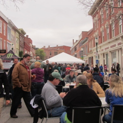 Downtown Gardiner hosts festivals throughout the year, including Swine and Stein, but the downtown has been identified by Maine Preservation as one of the state's most endangered properties.
