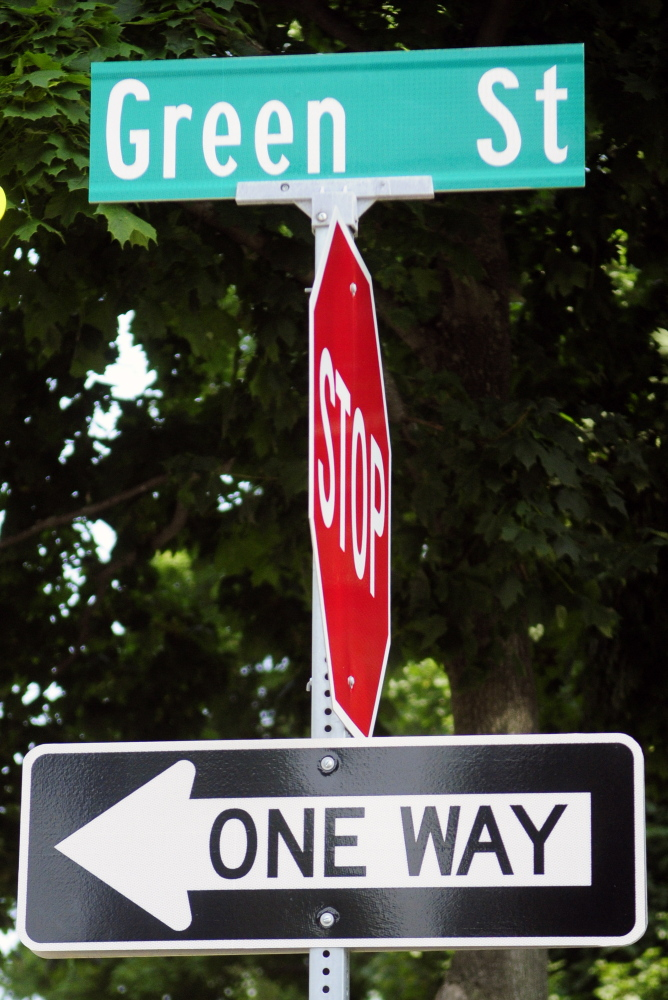 Green Street may be changed from one-way to two-way under a proposal being considered by the Augusta City Council.