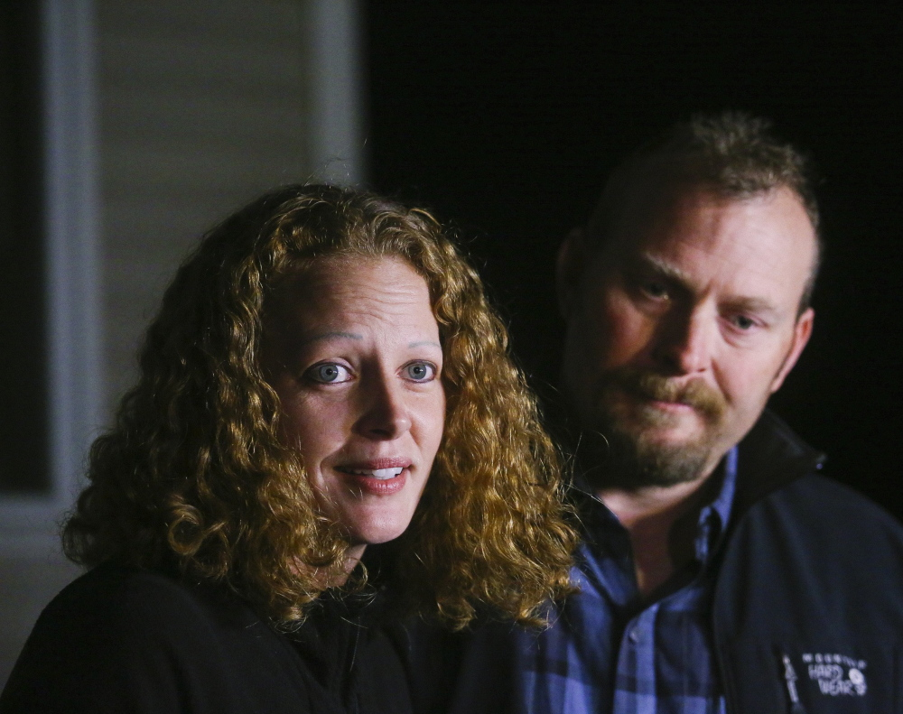 "Kaci Hickox and boyfriend Ted Wilbur received both ""great support"" and some hateful treatment in Fort Kent when Hickox defied a quarantine, she said."