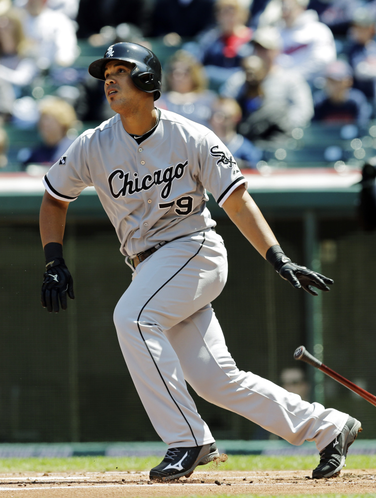 Chicago White Sox first baseman Jose Abreu was a unanimous winner Monday of the AL Rookie of the Year award.