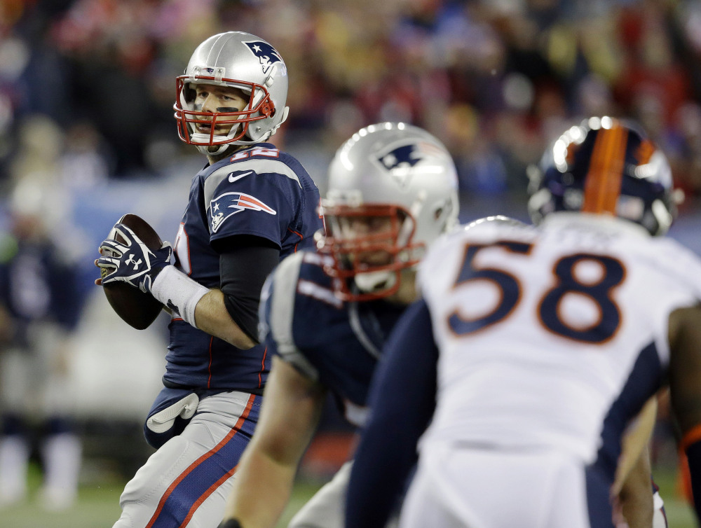 Tom Brady and the New England Patriots travel to Indianapolis to play the Colts on Sunday night.