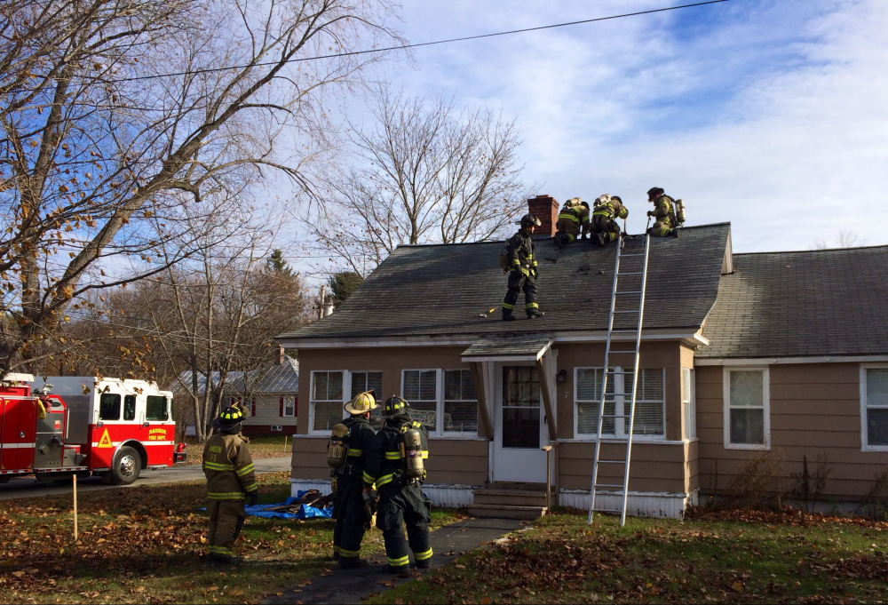 A fire that broke out around 9 a.m. on Hazel Street in Madison caused minimal damage to the attic and roof Thursday. The cause of the fire was electrical, said Madison Fire Chief Shawn Howard.