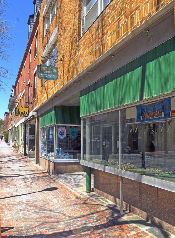 Greenhouse Games, formerly located at 269 Water Street is shown in a photo taken in May 2014 in Gardiner. The Gardiner Co-Op and Cafe project, which evolved from the Kennebec Local Food Initiative, will be housed there.