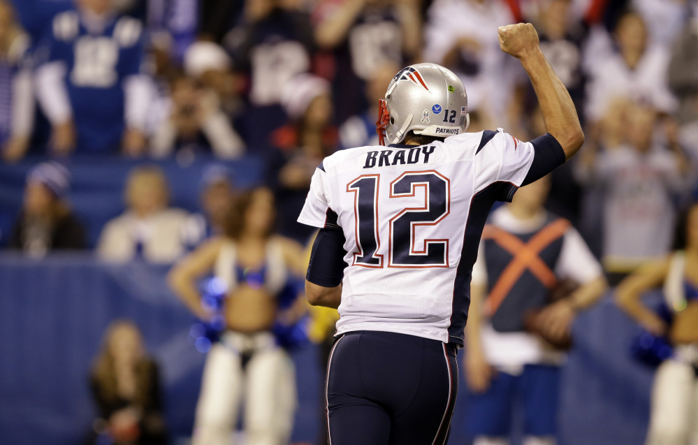 Tom Brady and the New England Patriots host the Detroit Lions Sunday at Gillette Stadium in Foxborough, Mass. The Patriots have the highest-scoring offense in the NFL, while the Lions have allowed the fewest points.