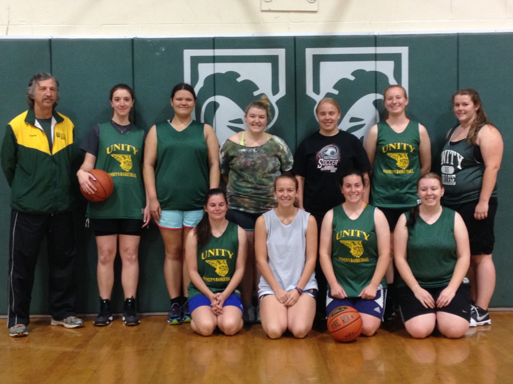 Staff photo by Evan Crawley The Unity women's basketball team fell to Central Maine Community College 106-8 earlier this season. But the Rams have soldiered on, and have picked up a win over Hampshire College within the last four games.