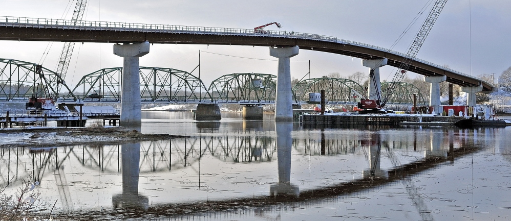 Local residents and politicians are expected to attend a ribbon cutting set for Friday, when the new bridge connecting Richmond and Dresden opens.