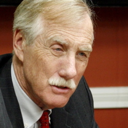 "Sen. Angus King: ""I want Republicans to say, 'What do we need to do to get Angus?' """