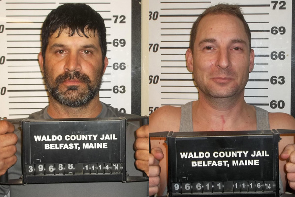 Mark Lessard, left, Christopher Giggey, right. Contributed photo