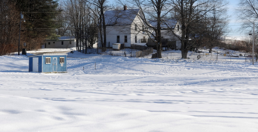The public skating rink site on Thomas Street in Madison, shown Thursday, proved to be inadequate for the town's needs, according to town officials.