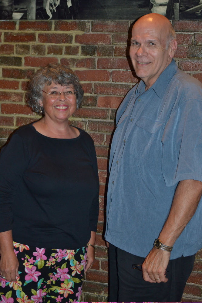 Retired teacher Lori Lewis, a vice president of the museum board of directors, and former RSU 9 superintendent Michael Cormier have headed the fund raising drive for the planned Western Maine Play Museum in Wilton