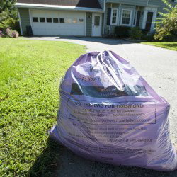 Official Waterville trash bags are required by the city's Pay As You Throw rubbish collection program.