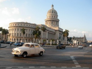American automobiles of 1950s vintage are still seen on the streets of Havana, since the disruption of trade between the countries meant that no new American cars have been imported into Cuba legally for a half-century.