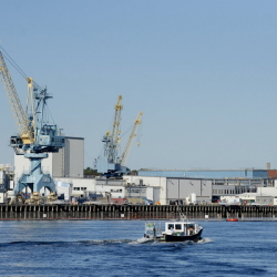 Portsmouth Naval Shipyard, located on an island in the Piscataqua River in Kittery, has 715 jobs to fill because of a projected increase in work overhauling nuclear submarines and to make up for worker retirements and departures for other positions.