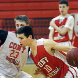 Cony High School's Liam Stokes is averaging nearly 18 points per game through the first four games of the season.