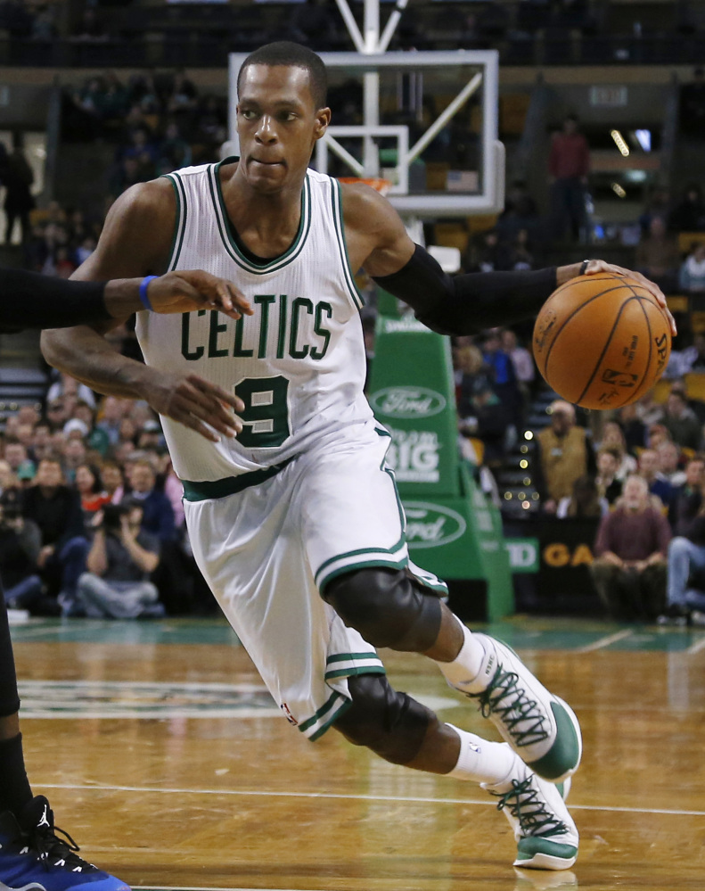 The Boston Celtics traded point guard Rajon Rondo to the Dallas Mavericks on Thursday, cutting ties with the last remnant of Boston's last NBA championship while giving Dirk Nowitzki and the Mavericks a chance at another title.