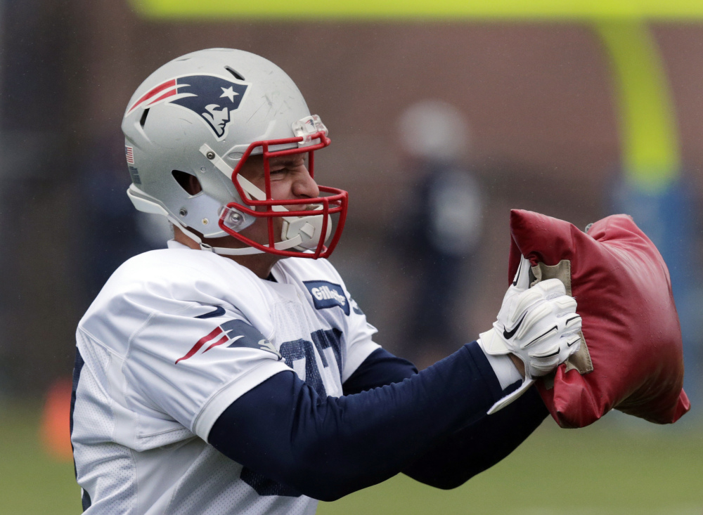 New England Patriots tight end Rob Gronkowski is inactive for Sunday's game against the Buffalo Bills.