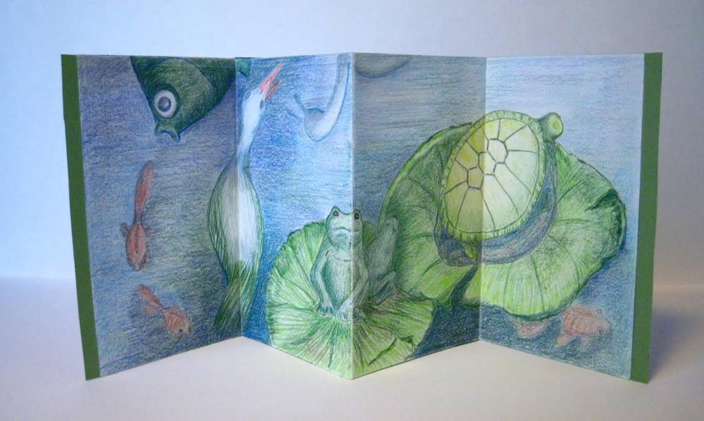 Bookmaking will be presented Jan. 11 at The Harlow Gallery.