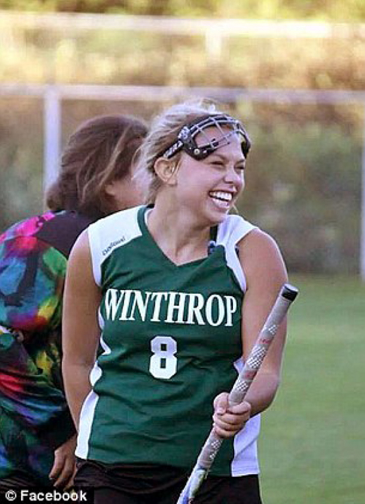 Staff file photo Kelsey Stoneton, a Winthrop junior, died Aug. 2 of a pulmonary embolism.