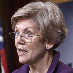 More than 300 former campaign staffers and organizers for President Obama have signed a letter urging Sen. Elizabeth Warren, D-Mass., to run for president in 2016. The Associated Press