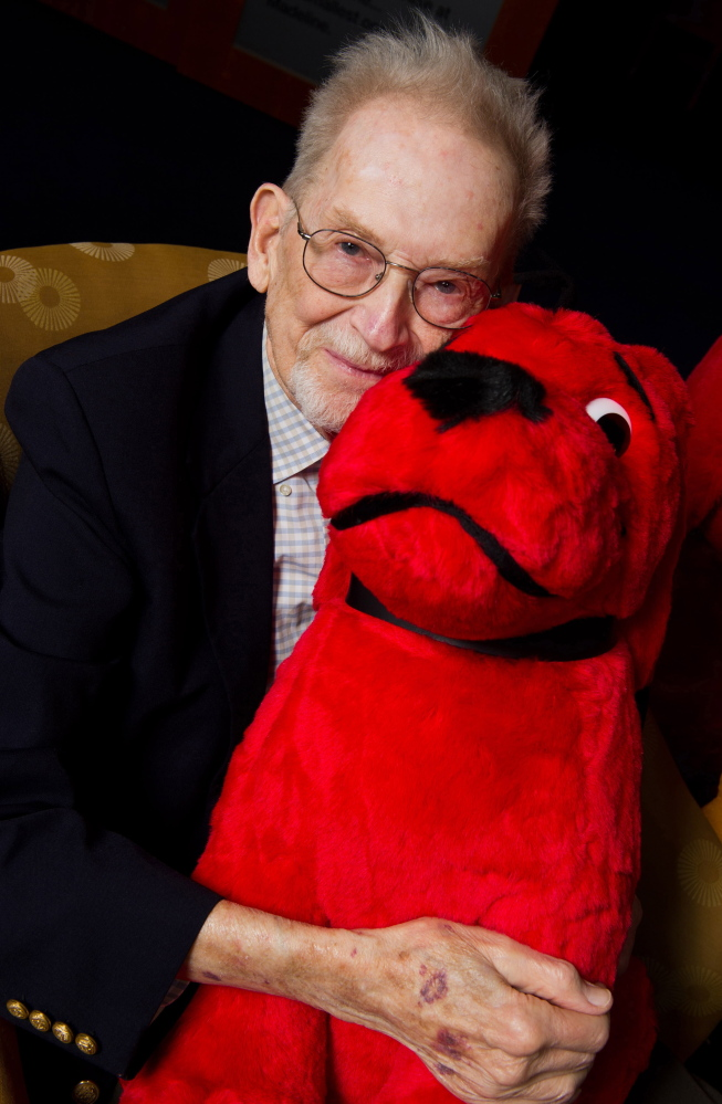 Norman Bridwell wrote and illustrated more than 40 Clifford books and sold more than 120 million copies worldwide since 1963. 2011 AP file