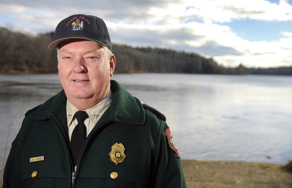 After 40 years of service, Col. Joseph Fessenden is retiring as chief of the Maine Marine Patrol, which oversees ocean and tidal waterways in regard to commercial fishing. He once had the job of policing Portland's bustling and unruly fishing port. Andy Molloy/Staff Photographer