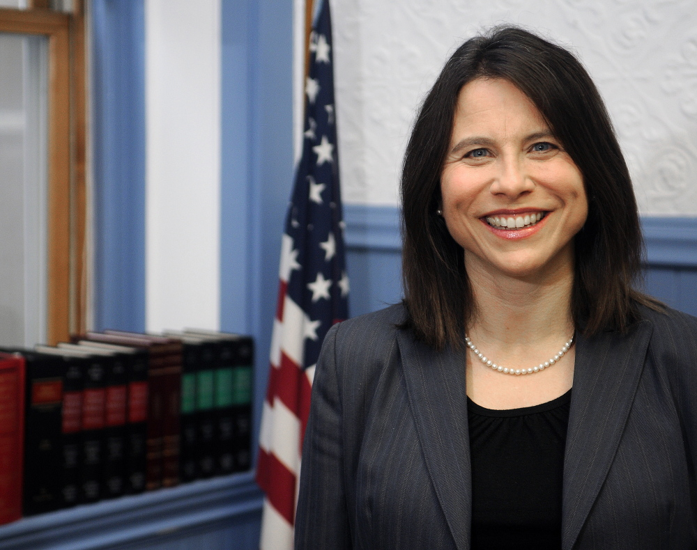 District Attorney Maeghan Maloney is to receive the Young Professional Award later this month from the Kennebec Valley Chamber of Commerce.