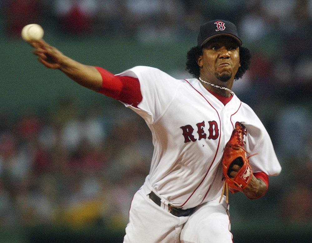 Former Boston Red Sox pitcher Pedro Martinez is among among 17 first-time candidates on the 2015 Baseball Hall of Fame ballot. The inductees will be announced Tuesday.
